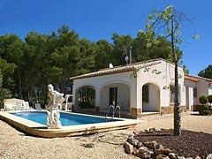 Costa Blanca: villa de plain-pied à vendre à Jávea Costa Nova, en parfait état, accessible en fauteuil roulant, avec piscine et internet